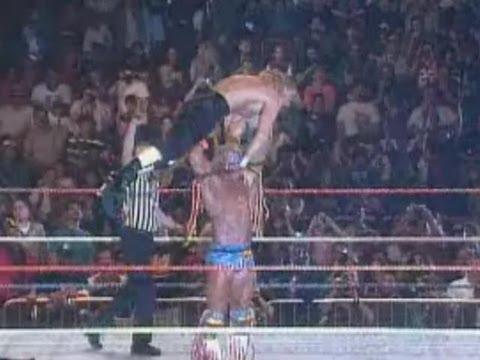 Ultimate Warrior Vs Triple H (Wrestlemania 12)