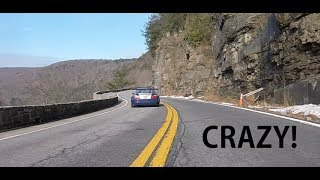 M3 GTR Racecar Canyon Run (Fly By/Chase Cam/Roof Cam)
