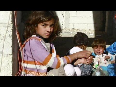 Foto des jahres zeigt ängstliches mädchen in syrien