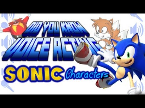 SUBSCRIBE http://www.youtube.com/subscription_center?add_user=kirbopher15 Did you know about the voice actors of your favorite Sonic the Hedgehog characters?...