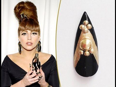 Acrylic Nails Lady Gaga