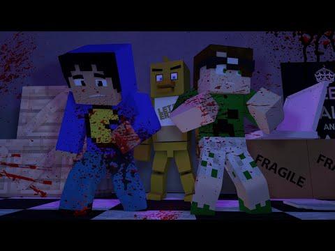 Minecraft: TERROR - FIVE NIGHTS AT FREDDY'S 3 (Série Desafios)