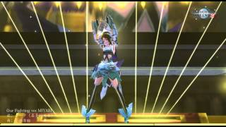 【PSO2】「Our Fighting ver.MIYABI 」ダンス確認用固定カメラ【クーナ(喜多村英梨)】