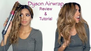 Dyson Airwrap Review & Tutorial || ARIBA PERVAIZ