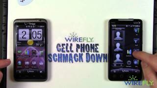 HTC ThunderBolt vs. HTC EVO 4G  - Schmackdown!