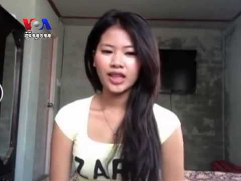 Facebook Brings Fame to College Student​ (Cambodia News in Khmer)