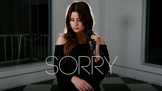 Download Lagu Sorry - Justin Bieber (Savannah Outen Cover) Gratis STAFABAND