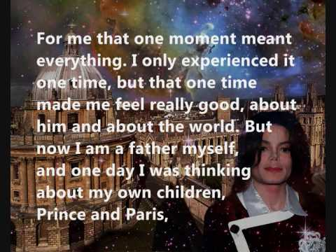 Michael Jackson - Oxford Speech 2001 (part 3/4) w/ full text