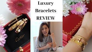 Luxury Bracelet Reviews, Scratches and Regrets? (Cartier Love,Juste Un Clou,Hermes CDC) 愛馬仕手環  卡地亞首飾