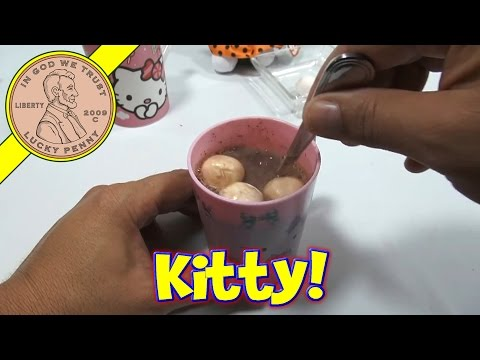 Hello Kitty Plush & Making Hello Kitty Hot Chocolate - Halloween 2013 Series