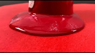 Acrylic fluid Painting - Symphony in red - by Tiktus
