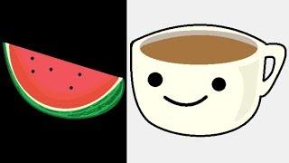Timelapse - Whatsapp Emoji Art in MS Paint - ComeTube
