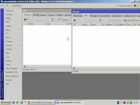 Programa para configurar Mikrotik pppoe, hotspot e web-proxy do zero com bloqueio de usuario