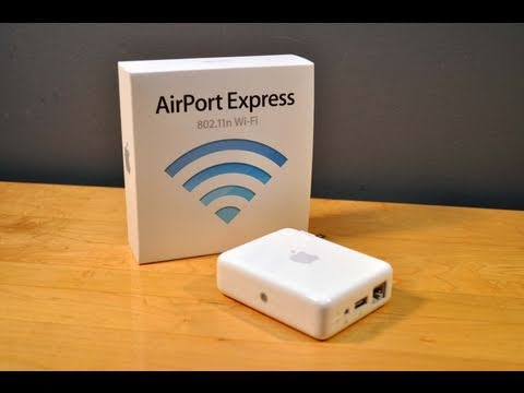 Apple AirPort Express: Unboxing and Demo