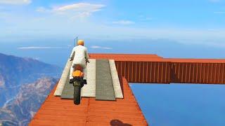 Impossible Stunt Bike Race (GTA 5 Funny Moments)