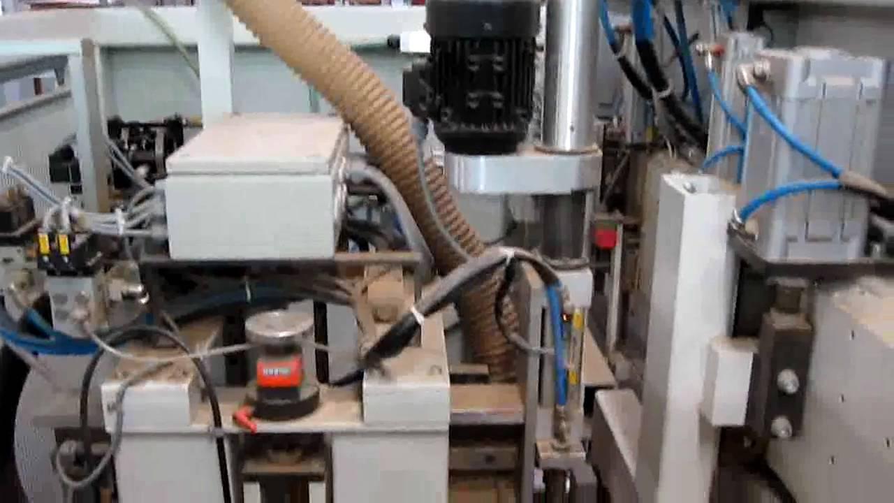 KOCH Dowel Drilling Machine - YouTube