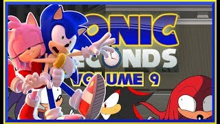 😍SONIC AND AMY IN LOVE😍 Sonic Reacts Sonic Seconds Volume 9