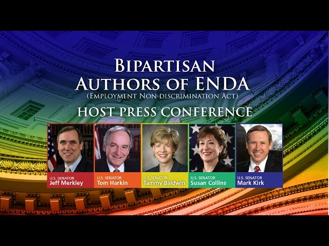 Bipartisan Authors Of ENDA Host Press Conference