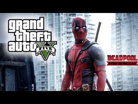 "GTA 5 ""Deadpool -  Red Band"" TRAILER REMAKE! (AMAZING GTA 5 SHORTMOVIE)"