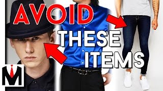 TOP 10 STYLE ITEMS NO GUY SHOULD OWN! | Ten Worst Men's Clothing Items