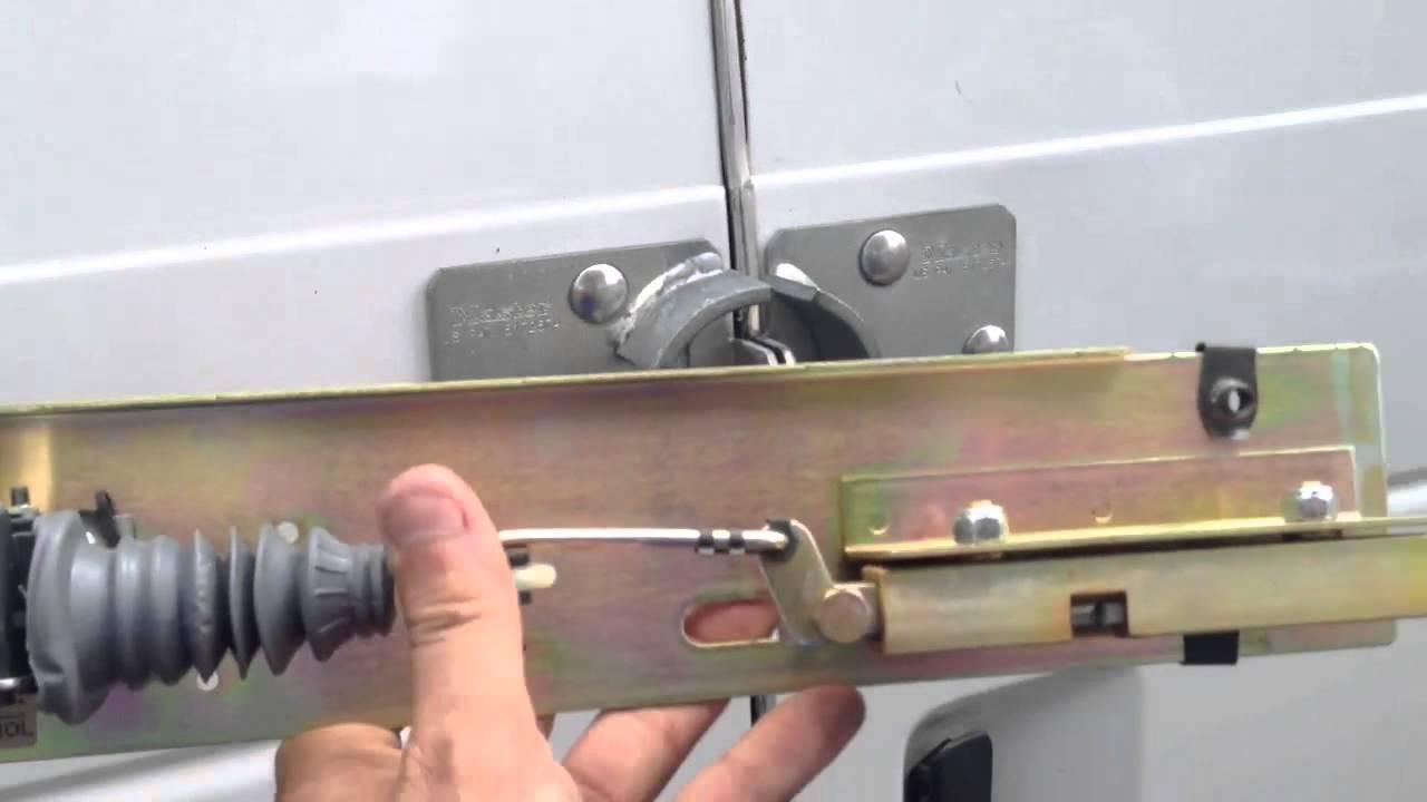 Electronic Cargo Deadbolt Locks Vs Padlocks Youtube