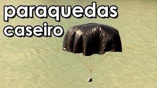 Radical! Voe com o paraquedas caseiro gigante (experiência de Física)