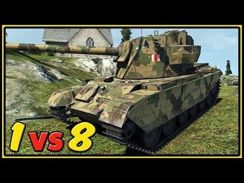 FV4004 Conway - 1 vs 8 - 11 Kills - World of Tanks Gameplay