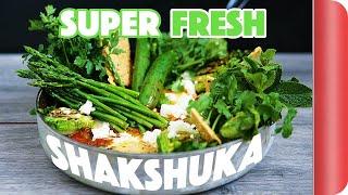 Super Fresh Green Shakshuka Recipe | Mystery Box Challenge