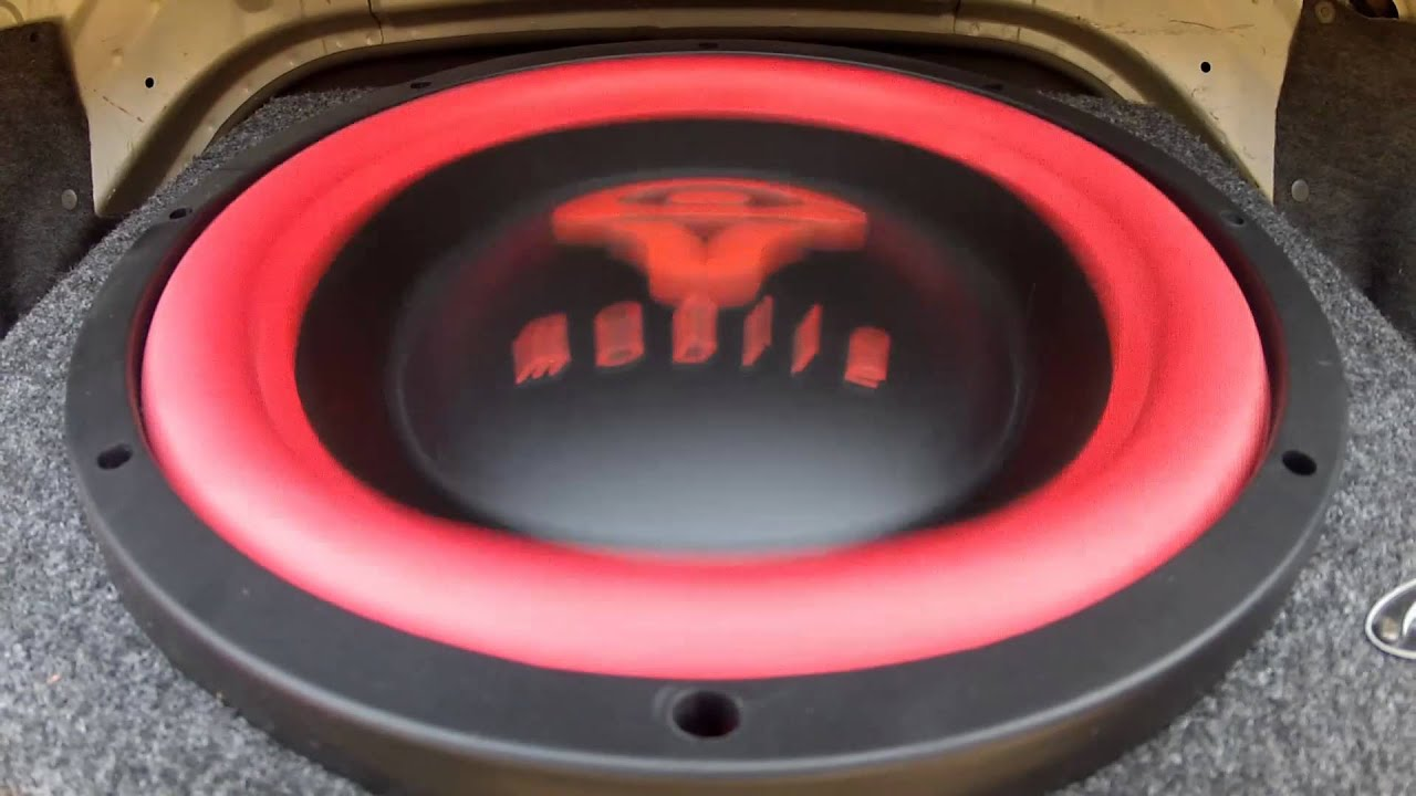 My Cerwin Vega Mobile Subwoofer 12 Quot In Action Youtube