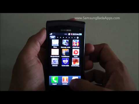 Samsung Wave II (GT-s8530) Review of Features: Hands-on video