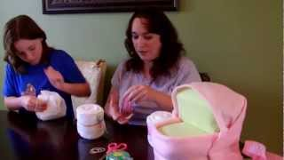 How To Make A Diaper Cake - Medium Bassin ...