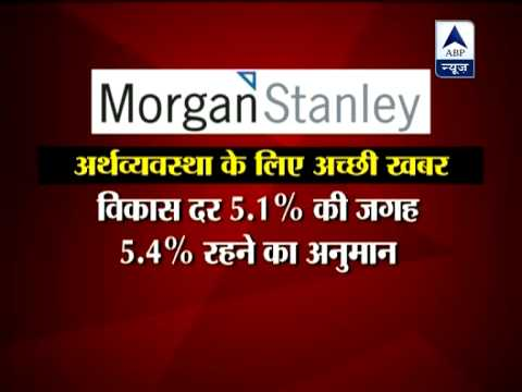 Morgan Stanley raises India's GDP forecast to 5.4 per cent for FY13