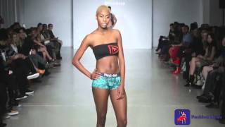 Play Out Underwear - Lingerie Fashion Week SS15 Runway Show