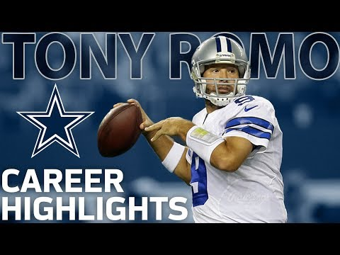 Tony Romo's Career Highlights with the Dallas Cowboys | NFL Legends