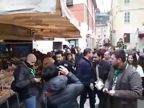 Emilia Romagna - Alan Fabbri - Matteo Salvini - Mercato