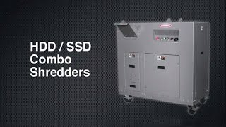 "SEM Model 0305 HDD/SSD COMBO HDD (1.50"") and SSD (.375"") Shredder"