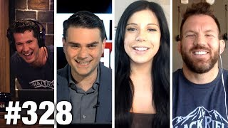#328 AMERICA'S DONE APOLOGIZING! Ben Shapiro, Blaire White, Ryan Bader Guest | Louder With Crowder