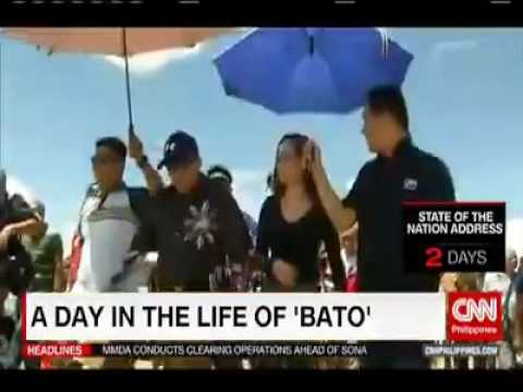 'BATO' Dela Rosa:Philippines top police official and  how he juggles his activity..