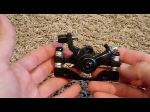 How does a Mountain Bike Mechanical Disc Brake Work?