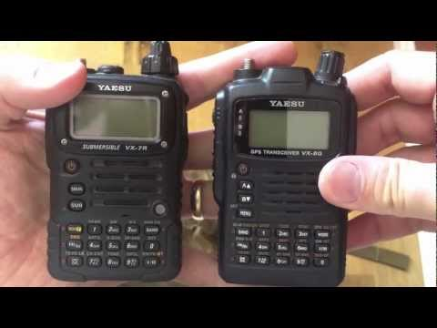 Yaesu VX-7R vs VX-8GR
