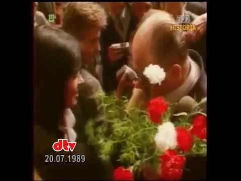 PRL 1989 Gratulacje dla Prezydenta Wojciecha Jaruzelskiego