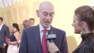 NBA Commissioner Adam Silver on the Red Carpet | NBA on TNT