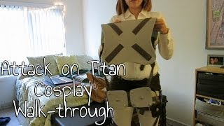 Attack on Titan Cosplay Walk-through