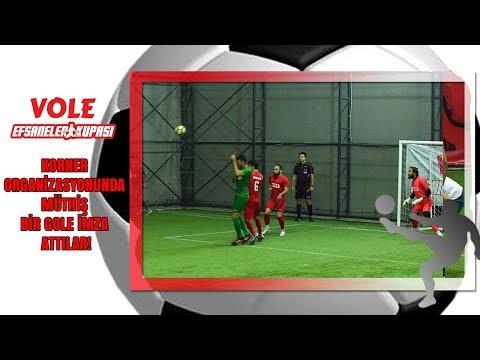 Vole Efsaneler Kupası | Korner organizasyonunda müthiş bir gole imza attılar!