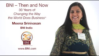 "Meena Srinivasan: ""BNI Is a Great Platform of Hope"""