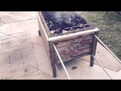 La Caja China - Roasting a 100lb pig in a box 2015