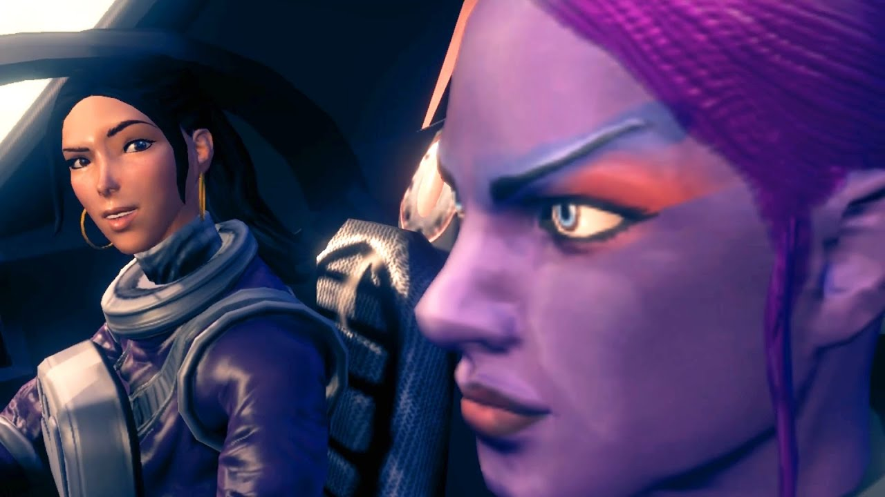 Saints row 3: naked female character adult movie