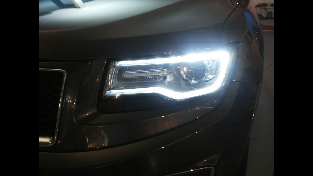 2014 Jeep Grand Cherokee Led Bi Xenon Light Oem Hid