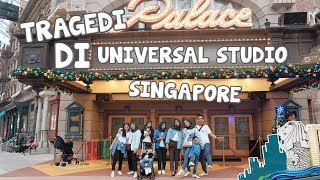 APDC GOES TO SINGAPORE DAY 3 - Happy Walau ada Tragedi di Universal Studio Singapore