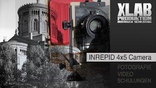 Großbild mit einer neuen 4x5 Camera